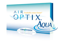 AIR OPTIX AQUA, 3 szt., CibaVision